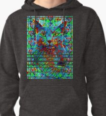 CAT POINT PAINTING Pullover Hoodie