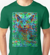 CAT POINT PAINTING Unisex T-Shirt