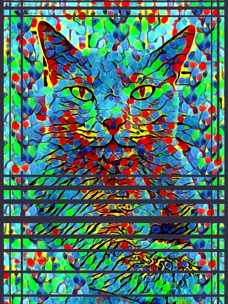 CAT POINT PAINTING von fuxart