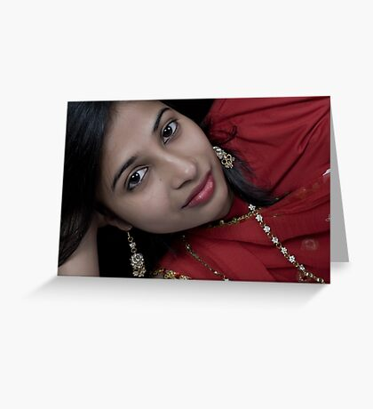 I Love RED!!!!! Greeting Card