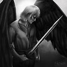 Archangel Michael  by Dark-Beautiful
