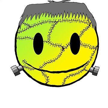 frankenstien smiley by morphfix