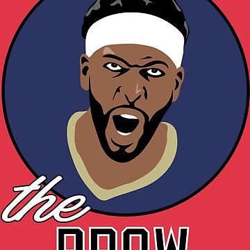"""Anthony """"THE BROW"""" Davis by RatTrapTees"""