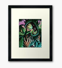 Man Vs. Nature Framed Print