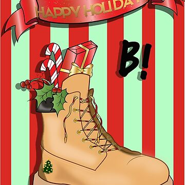Happy Holidays B! by KLCreative