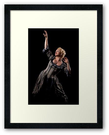 Lady in dark by Stevan Biber