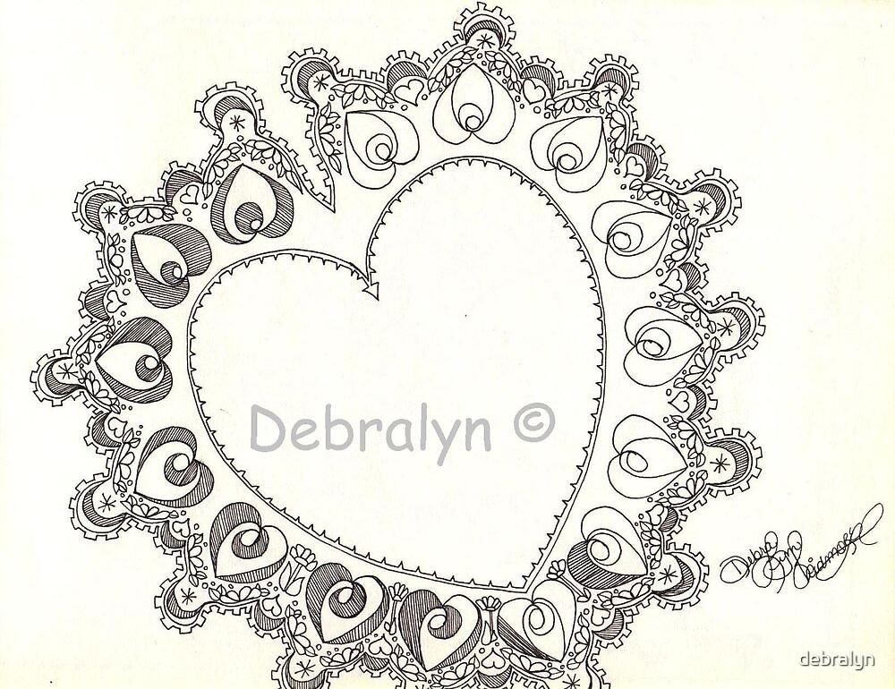 Lacey Heart by debralyn