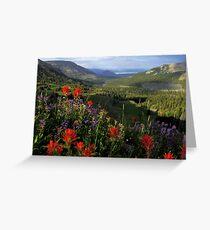 Bighorn Pass Greeting Card