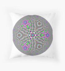 Noneuclidean Quasi-Ukrainian Mandala #49 Floor Pillow