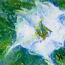 Field Bindweed 1 (pastel) by Niki Hilsabeck