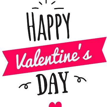 Women  Men Happy Valentine's Day Heart Short Sleeve T-Shirt  by AbdelaaliKamoun