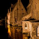Old House (Brugge, Belgium)  by Antanas