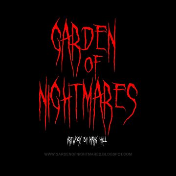 Garden Of Nightmares (Shirt) Red by hornedquad