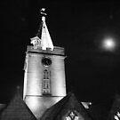 The church at night by Profo Folia