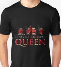 Queen vintage grunge Bohemian Rhapsody Unisex T-Shirt