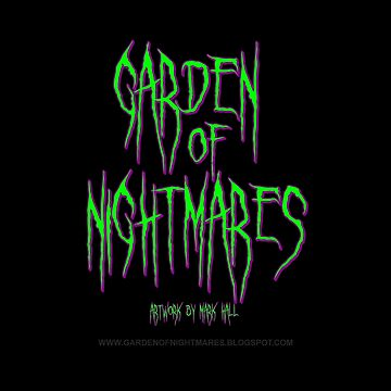 Garden Of Nightmares (Shirt) Green by hornedquad