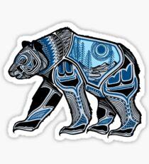 Native American Spirit Bear Sticker