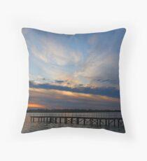 Sunset from Washington Park Throw Pillow