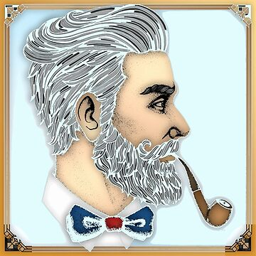 Man With A Pipe by sagram45
