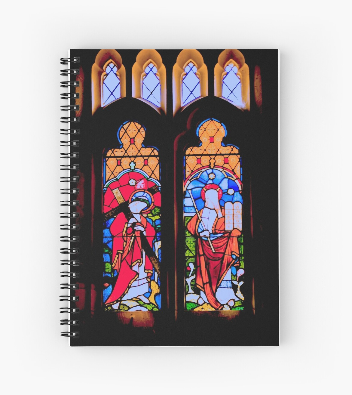 Church Windows 2 by Warren. A. Williams
