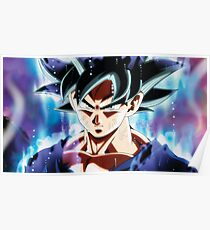 Ultra Instinct Goku Mastered - Migatte No Gokui  Poster