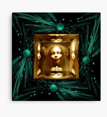 Thought´s MirrorsBox Canvas Print