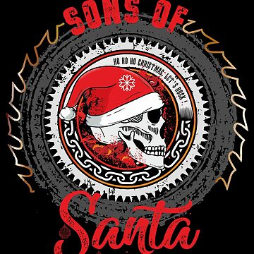 Sons of Santa Christmas Xmas by phskulmshirt