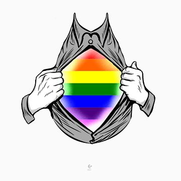 LGBT chest gift by LikeAPig