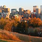 Downtown at sunset (panorama) by zumi