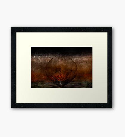 SAliva...lovers Commingle Framed Print