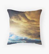Overbearing Cloud System Throw Pillow