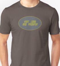 Knit Long and Prosper Unisex T-Shirt