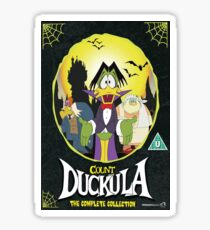 Count Duckula Sticker