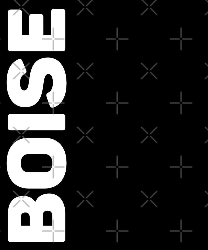 Boise T-Shirt by designkitsch