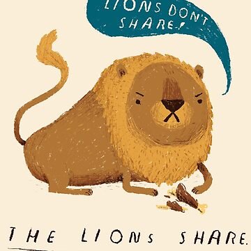 the lions share  by louros