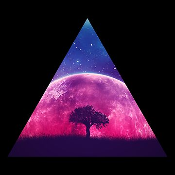 Magic Triangle | Pink Moon by thepinecones