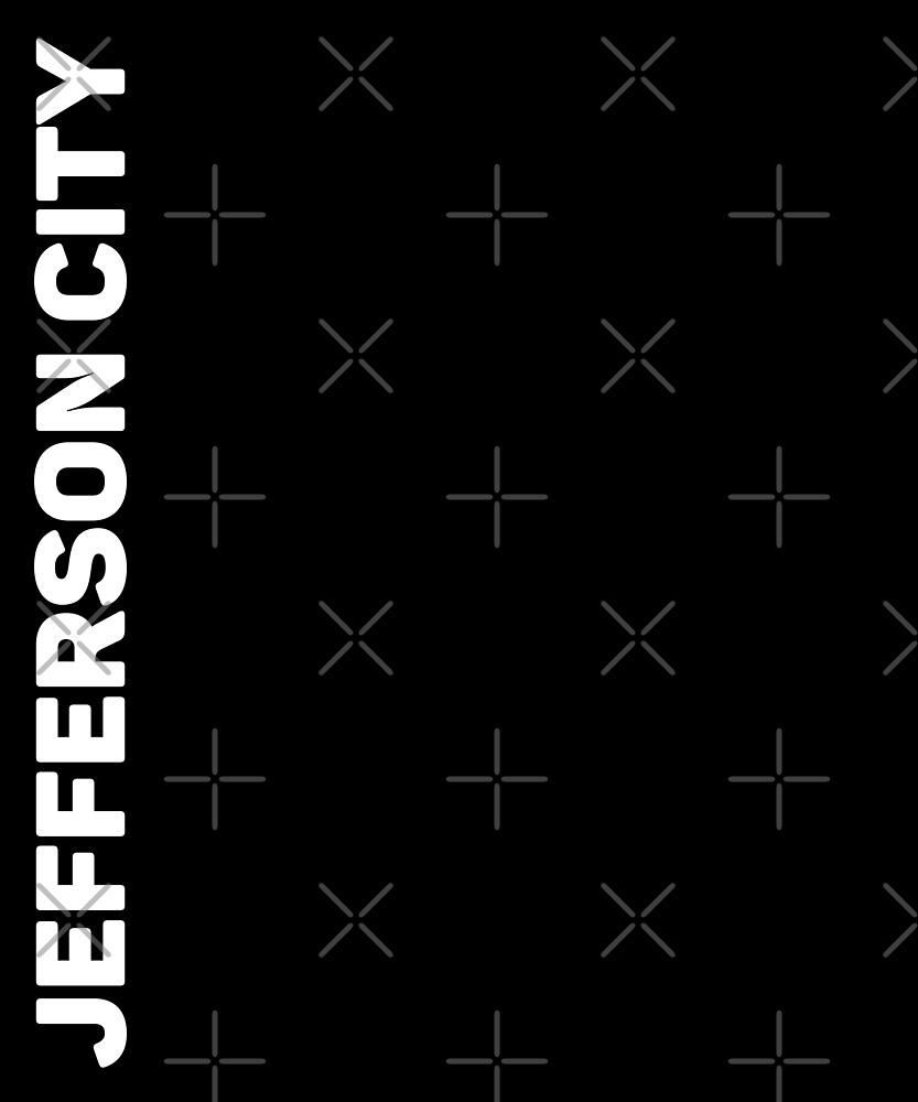 Jefferson City T-Shirt by designkitsch