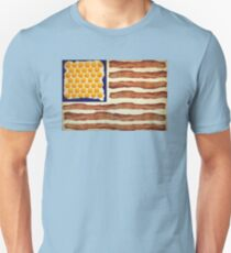Egg'n'Bacon Flag Unisex T-Shirt