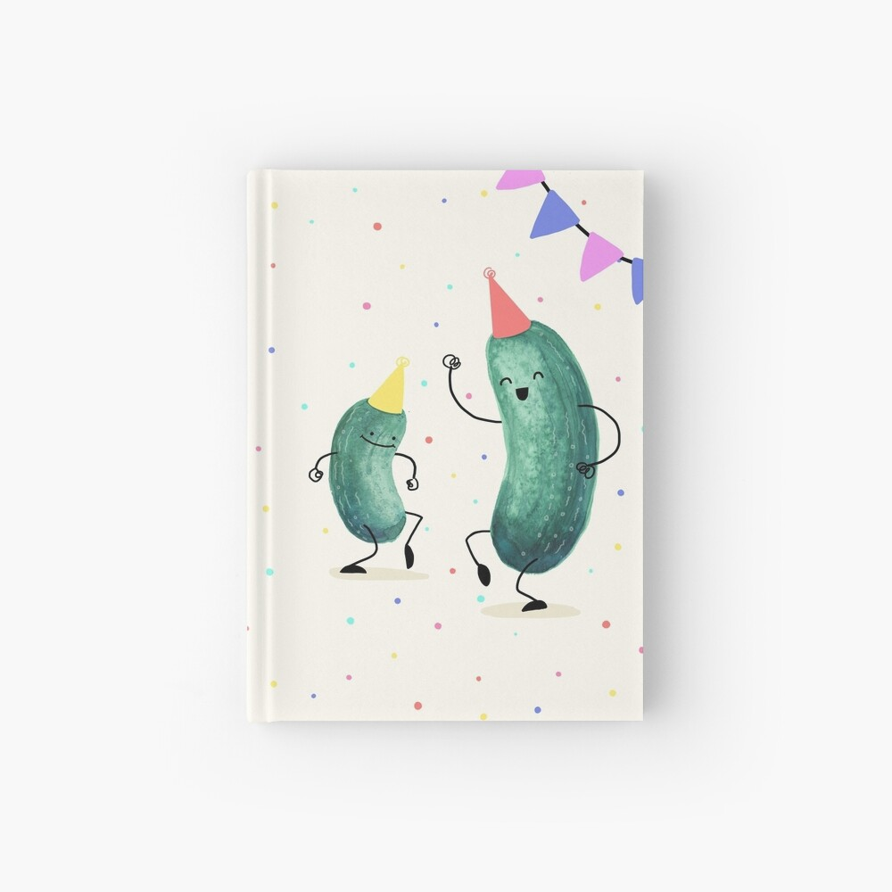 Pickle Party! Hardcover Journal