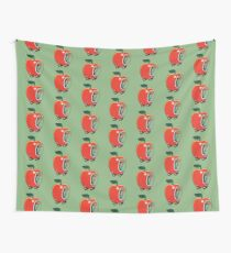 Lowly the Worm and His Apple Car Tapestry