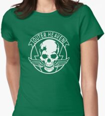 OUTER HEAVEN Womens Fitted T-Shirt