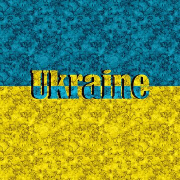 Flag of Ukraine by fuzzyfox