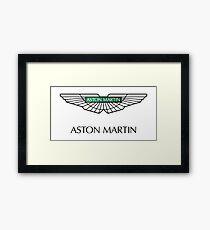 Aston Martin logo Framed Print