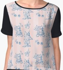 Toile de jouy, chinoiserie, fortlaufendes Muster, Tapete Chiffontop