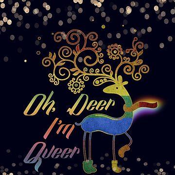 Oh, Deer I'm Queer by mensijazavcevic