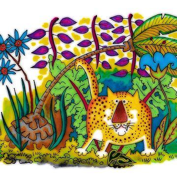 Jungle Jaguar by cuprum