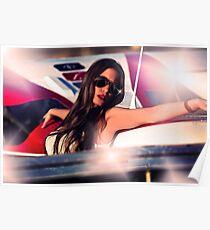 Fashion Airplane Fine Art Print Poster