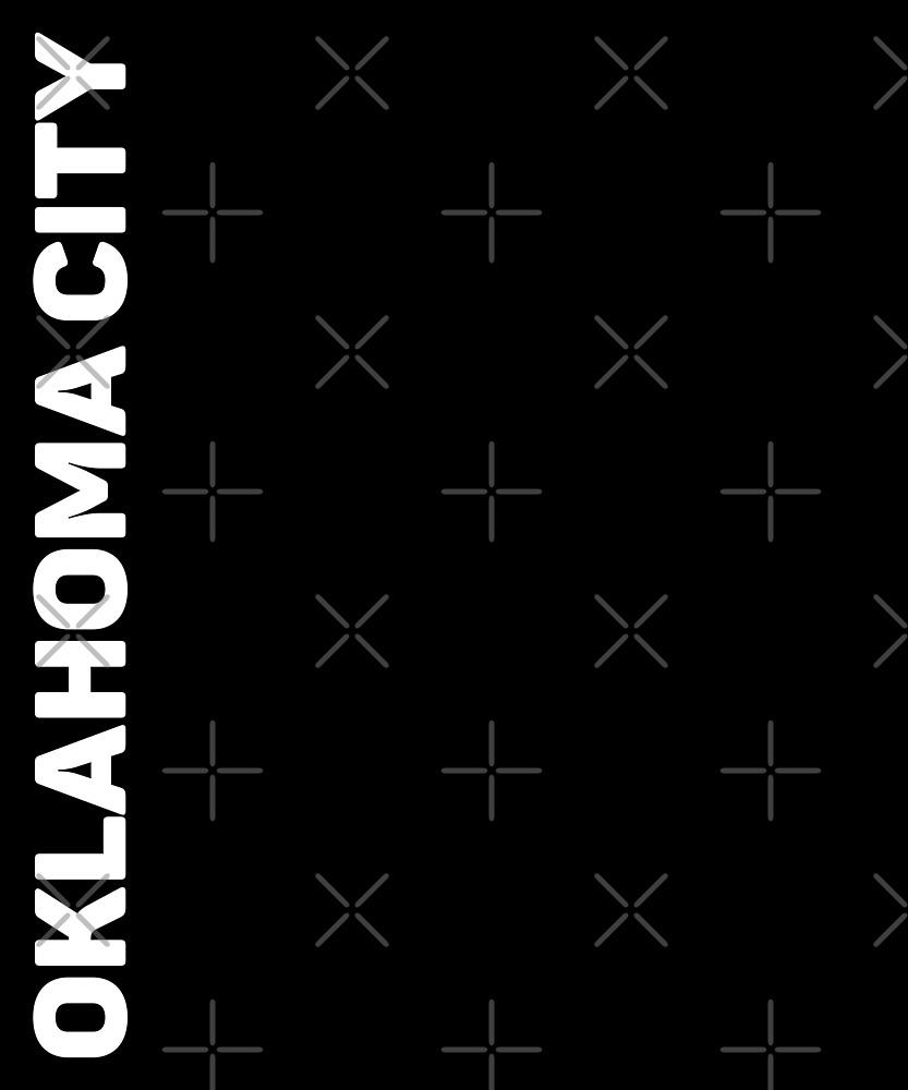 Oklahoma City T-Shirt by designkitsch