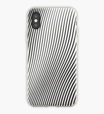 WAVE (BLACK) Vinilo o funda para iPhone