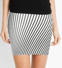 WAVE (BLACK) Minifalda